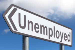 loans for unemployed road sign