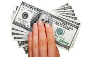 Direct Payday Loans fist full of cash